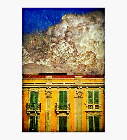 Cloud like whipped cream Photographic Print