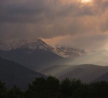 Rocky Mountain Rain Storm (Colorado Springs) by dfrahm