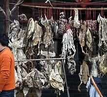 China, 2010, Nanjing, One man's meat... by DaveLambert
