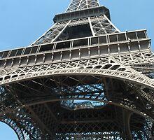 The Eiffel Tower, Paris, France. by Trish Kinrade