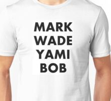 MARK|WADE|YAMI|BOB Youtubers Unisex T-Shirt