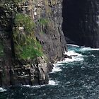 The Sea at the Cliffs of Moher by CFoley