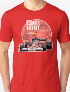 James Hunt - 1976 Jarama Unisex T-Shirt
