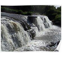 The Cascades Waterfalls, Ennistymon Poster