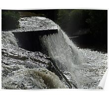 The Cascades Waterfall in Ennistymon Poster