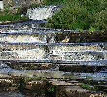 The Cascades Waterfalls in Ennistymon, Clare, Ireland by CFoley