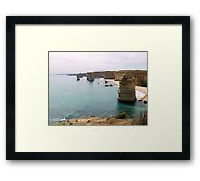 12 Apostles, Great Ocean Road, Victoria another view Framed Print
