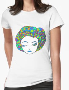 Goddess 4 of Book 2 Womens Fitted T-Shirt