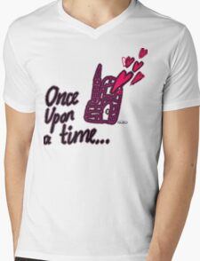 Once Upon a Time Mens V-Neck T-Shirt