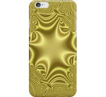 Yellow abstract pattern iPhone Case/Skin