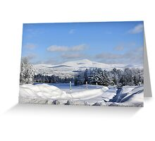 Vermont In All It`s Natural Beauty Greeting Card
