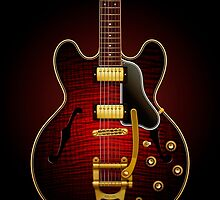 Electric Guitar ES 335 Flamed Maple by pepetto