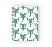 Scorpdala Spiral Notebook