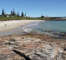Horseshoe Bay, Sth. West Rocks, N.S.W. Australia. by Mywildscapepics