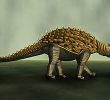 Armoured Dino by Cornelia Mladenova