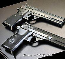 Baretta pistols by mitchcornacchia
