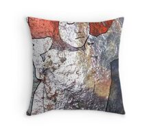 Etched in Stone #1 Throw Pillow
