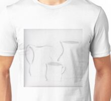 White Pottery Unisex T-Shirt