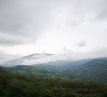 Costa Rica Mountain Range by Dream  Haven