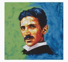 The Great Inventor - A Nikola Tesla Tribute T-Shirt