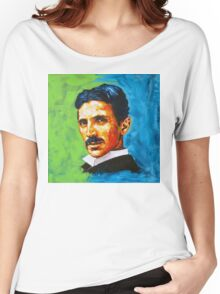 The Great Inventor - A Nikola Tesla Tribute Women's Relaxed Fit T-Shirt