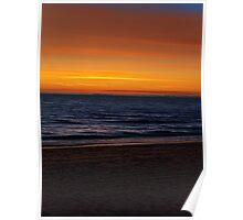 Sunset Texture Poster