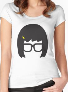 Tina Belcher: Silhouette Style  Women's Fitted Scoop T-Shirt
