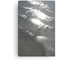 Silver Magic Metal Print