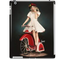 a ride iPad Case/Skin