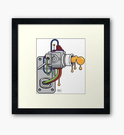Blerp Framed Print