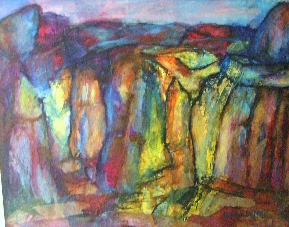Ilkley Rocks by Susan Duffey