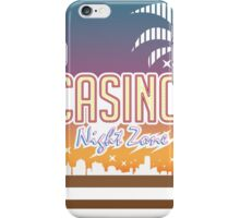 Sonic 2 - Casino Night Zone (Clean) iPhone Case/Skin