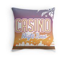 Sonic 2 - Casino Night Zone (Clean) Throw Pillow