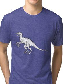 Velociraptor Tri-blend T-Shirt