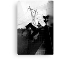 POWERED CUBICLE 3 Canvas Print