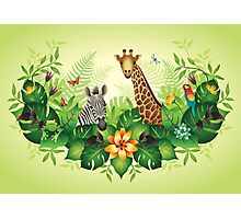 Jungle Magic Photographic Print