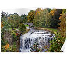 Websters Falls, Hamilton, Ontario, Canada.  Poster