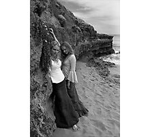 Castaways: Cliffside Longing Photographic Print