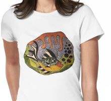 Temptation in the Depths Womens Fitted T-Shirt