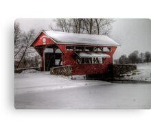 Essenhaus Covered Bridge Canvas Print