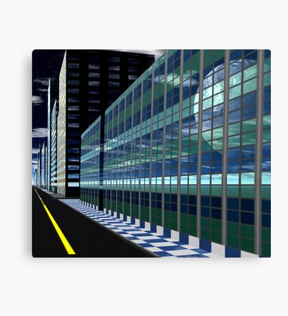 Reflected View Canvas Print