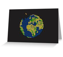 Tetris World Greeting Card