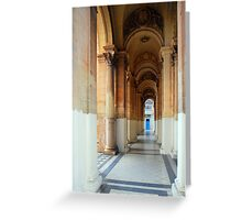 The Portico Greeting Card