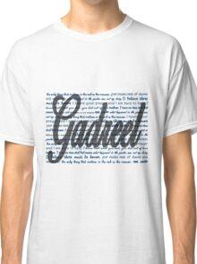 Gadreel quotes Classic T-Shirt