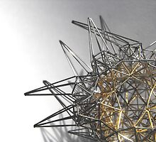 Steel Gold - exploration of form by oread