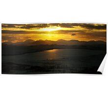 Sundown On The Isle Of Lewis Poster