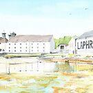 Laphroig Distillery by Ross Macintyre