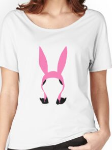Louise Belcher: Silhouette Style  Women's Relaxed Fit T-Shirt