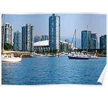 Vancouver's Spectacular False Creek... Poster