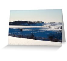 Rural Pennsylvania Greeting Card